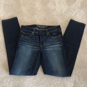AEO Super Stretch Skinny Jeans. Size 12 X-long.